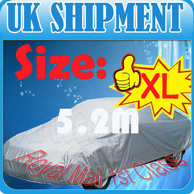 XL Size Car Cover Protection UV Proof Outdoor/Indoor UK