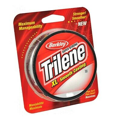 Berkley Trilene XL Fishing Line - Green - 6,8,10,12,14,17 or 20lb-Smooth Casting