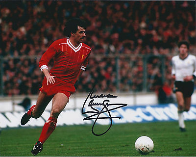 Mark LAWRENSON Signed Autograph 10x8 Photo AFTAL COA Liverpool LEGEND