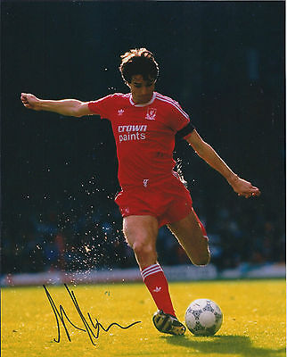 Alan HANSEN IN PERSON SIGNED Autograph 10x8 Photo AFTAL COA Liverpool FC Legend