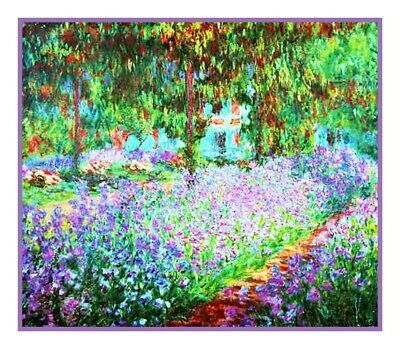 The Venice Grand Canal Impressionist Monet Counted Cross Stitch Pattern