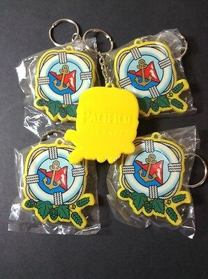 5 Pacifico Clara Cerveza Beer Bottle Openers Keychains New! Nautical Anchor
