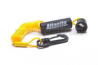 New Sea Doo BRP DESS Key Switch Floating Lanyard Tether Yellow RFI DI 4-Tec ALL