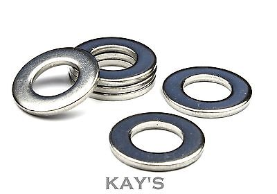 Flat Washers Form A To Fit Metric Screws And Bolts Zinc Plated Thick Steel Bzp
