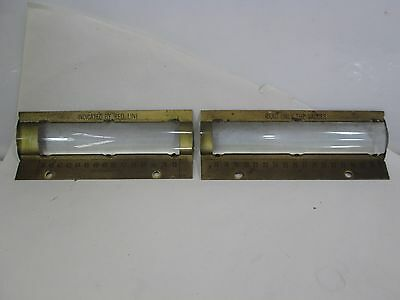 2 Vintage Toledo Scale Glass Magnification Windows for 383D No. 100545 Style