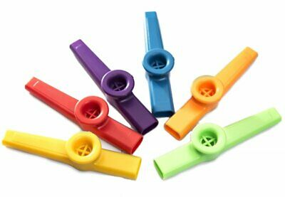 Stagg Single Percussion Plastic Kazoo Various Colours For Children 3 Years On