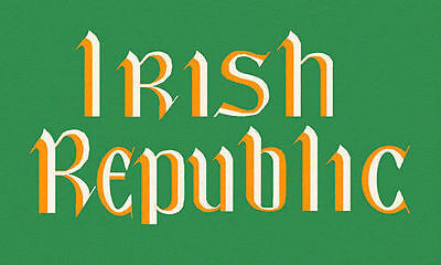 Irish Republic 1916 Flag - 5 X 3Ft - Irish Republican Easter Rising Rebel Eire