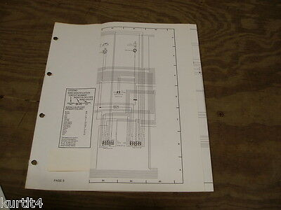 1985 lincoln mark vii wiring diagram schematic sheet service manual