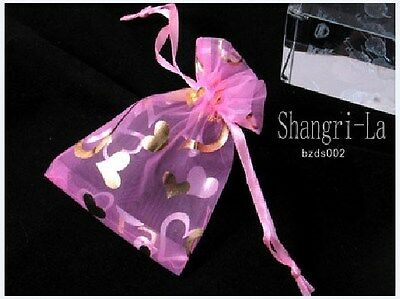 Wholesale 100 Organza Gift Pouches Bags 2.3''x3.5'' B1