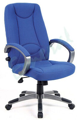 Jerez High Back Posture Manager Operator Task Office Chair In Charcoal Or Blue
