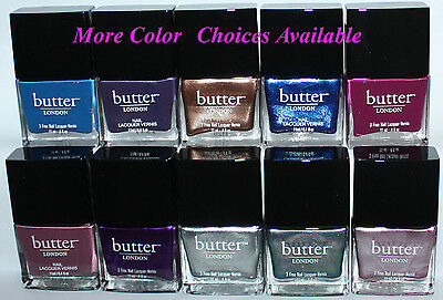 Butter LONDON Nail Polish Lacquer .4 oz several colors available **