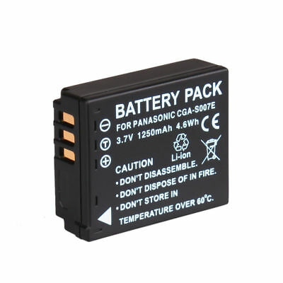 Battery For Panasonic Lumix DMC-TZ11 DMC-TZ15 TZ1 TZ3 TZ4 TZ5 CGA-S007E