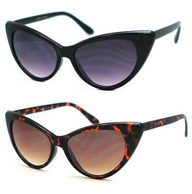 5e9ee67366670 New Womens Cat Eye Retro Vintage 50s 60s Style Rockabilly Sunglasses Eye  Glasses