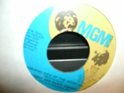 Donny & Marie Osmond - Morning Side Of The Mountain / One Of These Days  45 1974