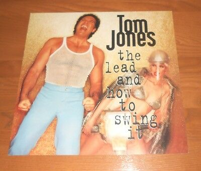 Tom Jones The Lead and How to Swing It 1994 2-Sided Flat Square Poster 12x12