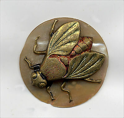 Fly Or Bee – An Insect Medallion - A 3D Insect