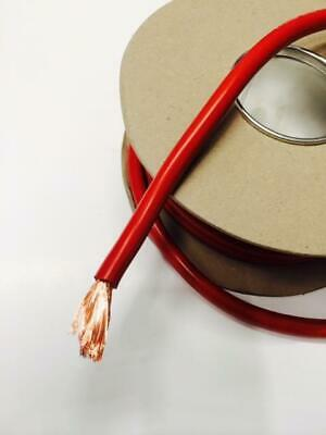 1M Red Cable 300 Amp Copper Multi Strand Electrical Flex - Marine - Boat - Car