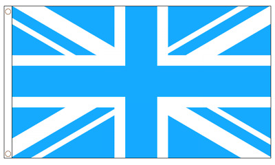 Union Jack Flags - 5 x 3 FT - Red Pink Green Blue Black White Claret Sky Gold