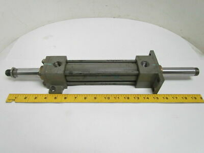 "Lynair H-1 1/2MCA04 Pneumatic Air Cylinder 1-1/2"" Bore 6"" Stroke Double Rod End"