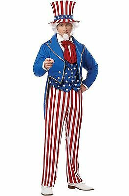 Uncle Sam Patriotic America Adult Costume
