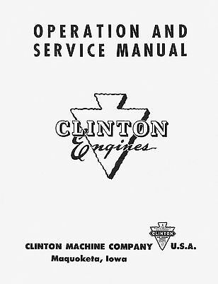 Clinton Engines Operation & Service Manual