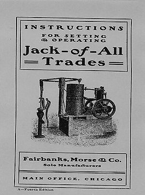 Fairbanks Morse Jack of all Trades  Instruction Manual