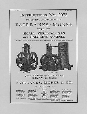 Fairbanks Morse Vertical Jack Of All Trades  No  2072