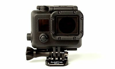 Black Blackout Dive Housing Case for GoPro HD Hero 3 3+ Plus Black Silver White
