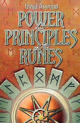 Power and Principles of the Runes by Freya Aswynn Paperback Book (English)