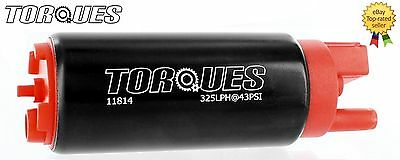 TORQUES 340 Ltrs/hr In Tank Fuel Pump Offset Inlet Inline #11814