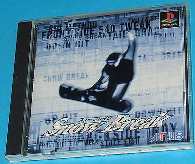 Snow Break - Sony Playstation - PS1 PSX - JAP