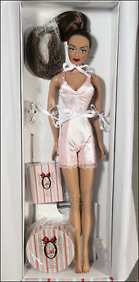 "Candi 16"" Boxed Fashion Doll, Lingerie, Shoes, Stand, etc. # 102 Brunette, new"