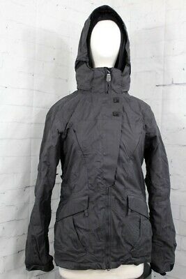New Womens 686 Smarty Sync 3 In 1 Insulated Snowboard Jacket Medium Black