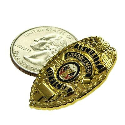SEO Security Enforcement Officer Guard 1 Inch Novelty Emblem Lapel Hat Pin