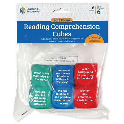 Learning Resources Soft Foam Reading Comprehension Cubes