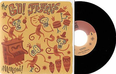 """THE GO! FREAKS Numbered 7"""" 45 2011 spanish cabanyal soul records Valencia"""