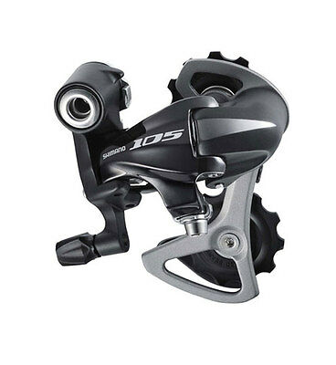 Shimano 105 - 5700 Rear Mech / Derailleur - Black - Short