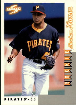 1998 Score Rookie Traded #248 Abraham Nunez