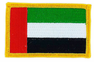 FLAG PATCH PATCHES United Arab Emirates UAE  IRON ON EMBROIDERED SMALL
