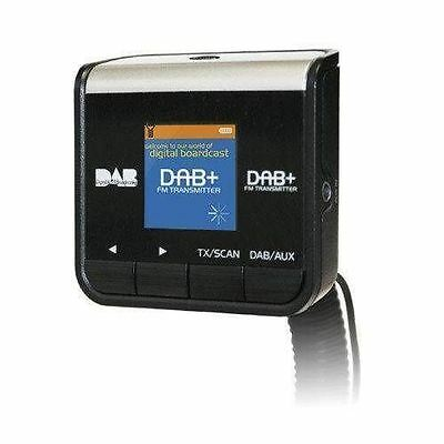Car DAB Radio Adapter Upgrade FM Transmitter Aux In Out Easy Setup