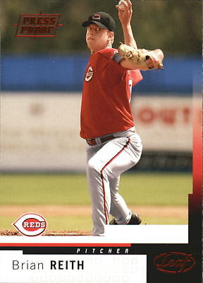 2004 Leaf Press Proofs Red #125 Brian Reith