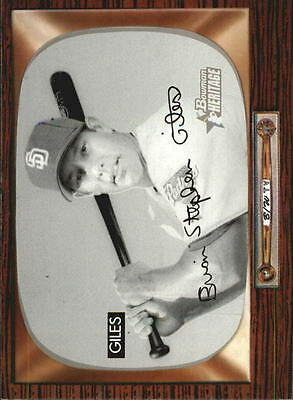 2004 Bowman Heritage Black and White #140 Brian Giles