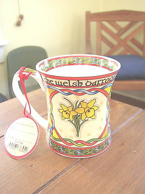 The Welsh Daffodil Bone China Cup or Mug, Clara