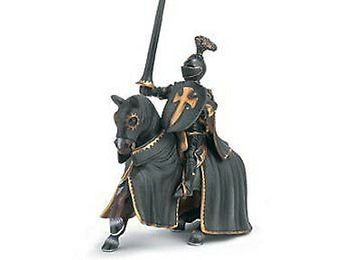NEW Schleich 70032 Black Knight on Horse Horseback - RETIRED