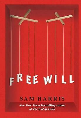 Free Will by Sam Harris (English) Paperback Book Free Shipping!