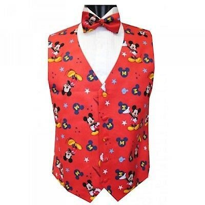 Mickey Mouse Superstar Tuxedo Vest and Bowtie