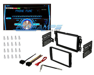Pioneer Double 2 Din Bluetooth Car Stereo Radio Cd Player Deck With Install Kit