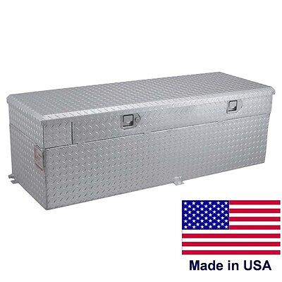 "Commercial 60 Gallon Auxiliary Tank & Toolbox - 55"" x 20"" x 22¾"" - 6 & 8 ft Beds"
