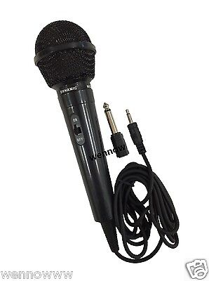 6 Ft Super Sound Uni-Directional Dynamic Wired Handheld Microphone