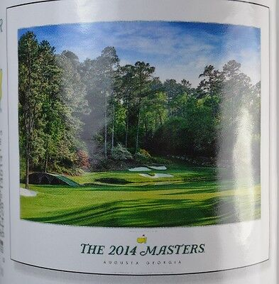 2014 MASTERS Commemorative POSTER from AUGUSTA NATIONAL